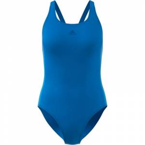ADIDAS Athly 3-Stripes Swimsuit Blå