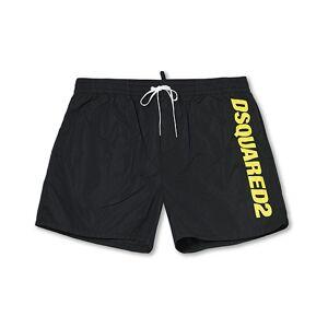Dsquared2 Logo Boxer Mid Swimshorts Black
