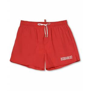 Dsquared2 Icon Boxer Mid Swimshorts Red