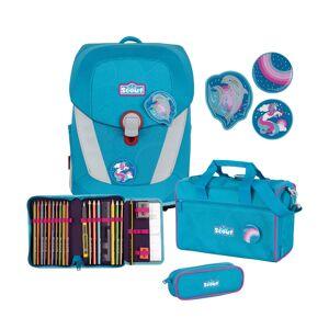 Scout Skoletaskesæt Sunny II Delfin Blå