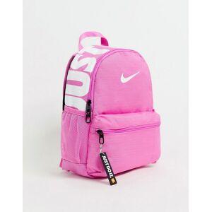 Nike pink just do it mini backpack - China rose/white