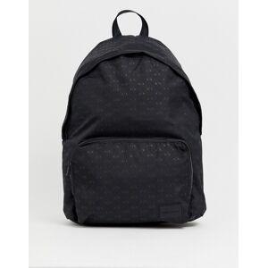 Armani Exchange logo backpack in black - Black