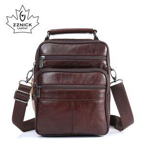 Apple ZZNICK 2017 Men Bags Ipad Handbags Sheepskin Leather Male Messenger Purse Man Crossbody Shoulder Bag Men's Travel Bags 8101