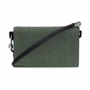 AllSaints Goldsmith strapped wallet