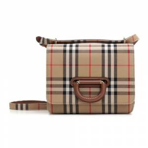 Burberry The D-ring bag with Check motif