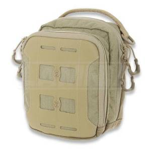 Maxpedition AGR AUP Accordion Utility Pouch bag, tan