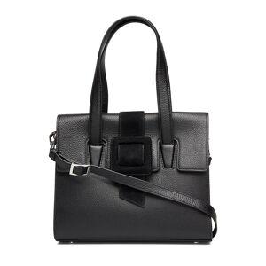 Adax Berlin Shoulder Bag Jen Bags Top Handle Bags Svart Adax