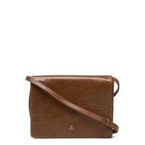 Adax Salerno Shoulder Bag Karla Bags Small Shoulder Bags - Crossbody Bags Brun Adax