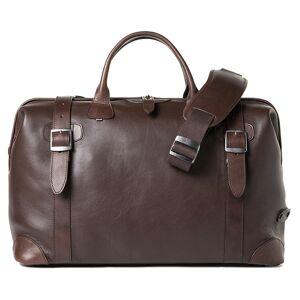 Barber Shop Quiff Doctor Bag Dark Brown Leather