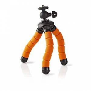 Beam Ministativ - Kamerastativ   Maks. 0,5 kg   13 cm   Fleksibelt   Sort/Orange
