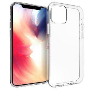MOBILCOVERS.DK iPhone 12 Pro Max Fleksibelt Plastik Cover - Gennemsigtig