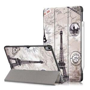 TABLETCOVERS.DK iPad Air (2020) Læder Cover m. Apple Pencil Holder - Eiffel Tårnet