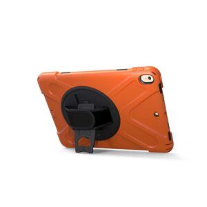 TABLETCOVERS.DK iPad Pro 10.5 / iPad Air (2019) Håndværker Cover m. 360 Graders Holder & Standerfunktion Orange