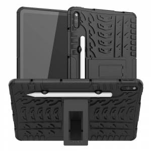 "TABLETCOVERS.DK Huawei MatePad 10.4"" Dækspor Cover m. Pen Holder & Kickstand - Sort"