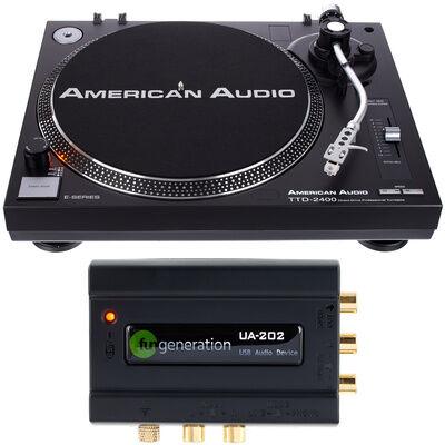 American Audio TTD 2400 USB Interface Set