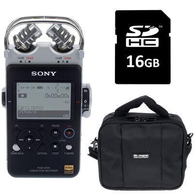Sony PCM D100 Bundle