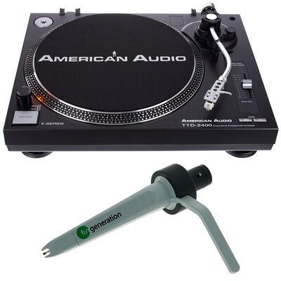 American Audio TTD 2400 Concorde Bundle