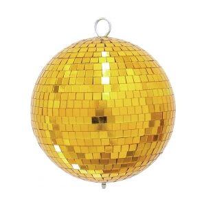 EuroLite Spejlkugle 20cm guld TILBUD NU spejlkugle spejl bold guld