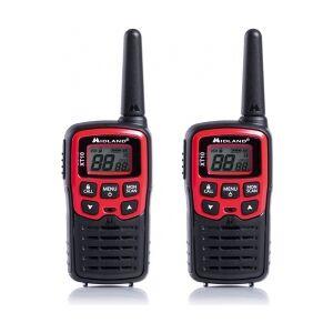 Equip MIDLAND - XT10 PMR446 radio m. bælteclip (2-pak) TILBUD NU pakke