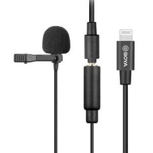Boya Mikrofon By-M2 - Lavalier Lightning Dual Ios