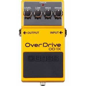 Boss OD-1X Overdrive guitarpedal