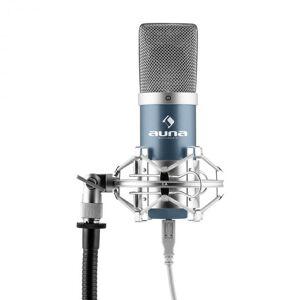Auna MIC-900BL USB kondensaattorimikrofoni sininen hertta studio