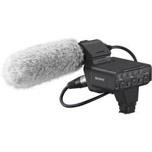 Sony Xlr-K3m Dual-Channel Xlr Adapter Inklusive Shotgun Mikrofon