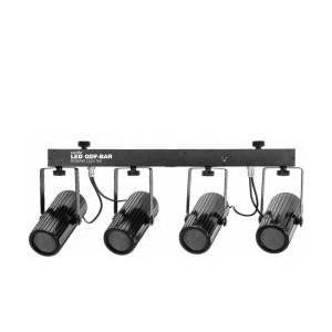 EuroLite LED QDF-Bar RGBAW Light Set TILBUD NU sett lett lys
