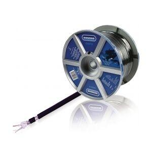 Bandridge Mikrofon Kabel på Snelle 2x 0.45 mm² 100 m Sort, LC4220 TILBUD NU
