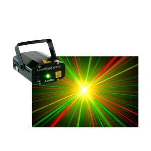 Apollo Multipoint Laser med kraftig stjerneeffekt Rød/ stjernerseffekt stjerners