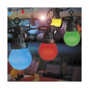 f6271229892e Se TILBUD på Udendørs Party Lyskæde 11.5m med 20 farvede LED pærer ...
