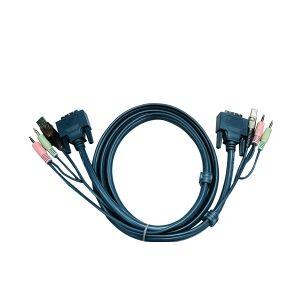 Aten KVM kabel DVI-D (1,8m) TILBUD NU