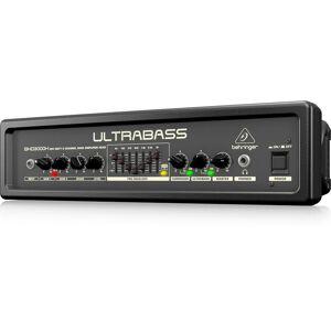 Behringer Bxd3000h Ultrabass Compact 300w, 2-Channel Bass Amplifier