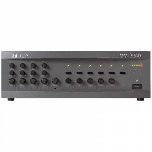 TOA VM-2240ER Systemforsterker 5 Soner 240W 100V