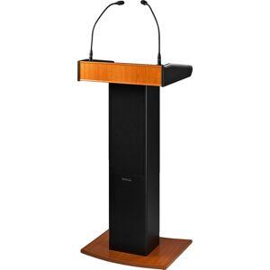 MONACOR SPEECH-100D talerstol m/aktiv høyttaler, mikrofon og lampe