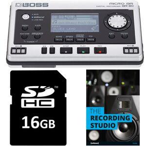 Boss BR-80 SD Card Bundle