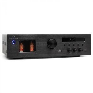 Auna Tube HiFi-rörförstärkare MP3 USB mottagare 600W
