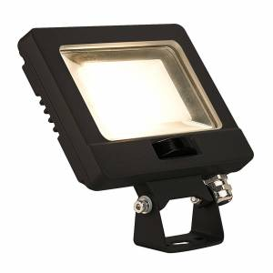 SLV Spoodi sensor utomhus spotlampa svart 13,5 cm