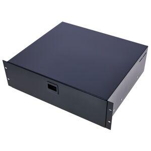 Adam Hall 87403 E Rack Drawer Black