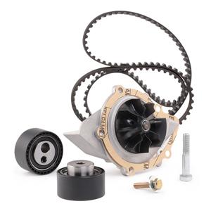 Bosch Vandpumpe + Tandremssæt 1 987 946 477 Sprinklerpumpe + Tandremssæt VW,AUDI,SKODA,Golf IV Schrägheck (1J1),Golf V Schrägheck (1K1)