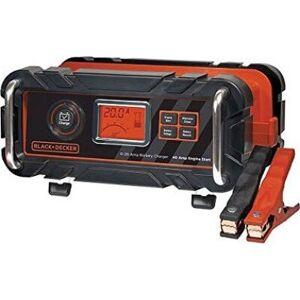 Black & Decker - Bilbatteri Lader Med Motor Starter 12v 40a