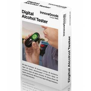 Innovagoods Alkometer - Digital Alcohol Tester