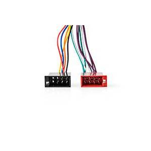 JVC ISO stik - JVC 0,15m (16 pin) Nedis