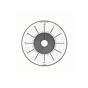 Elektronisk P-Skive (Batteri) Hvid - Park Deluxe FS20