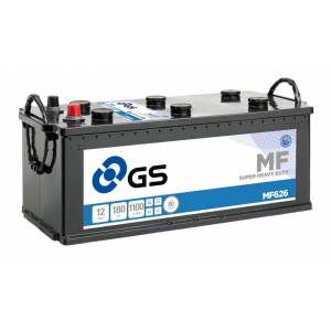 GS YUASA GS MF626 Super Heavy Duty Lastbilbatteri - 12V 180Ah 1100CCA