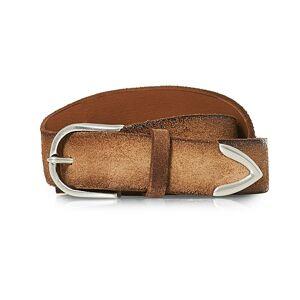 Orciani Handmade Suede Belt 3 cm Sabbia men 85 Brun