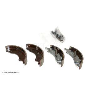 Bromsbacksats, 160x35mm tidigt utföra, Knott, 16-1365, 134mm, Brakeparts