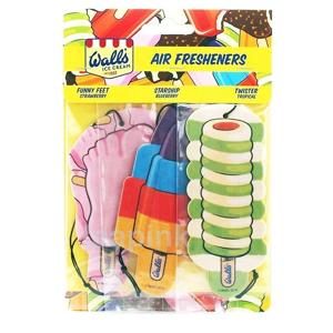 Wall's Ice Cream Car Freshener Trio 3 st Air Freshener