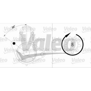 VALEO Startmotor  Nissan -  Primera, Almera