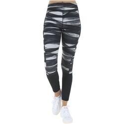 adidas Calça Legging com Proteção Solar UV adidas TechFit Tig LT PR2 - Feminina - PRETO/BRANCO